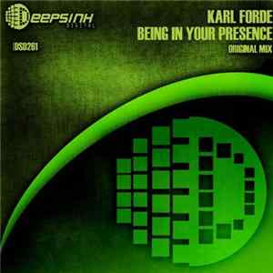 Karl Forde - Being In Your Presence FLAC