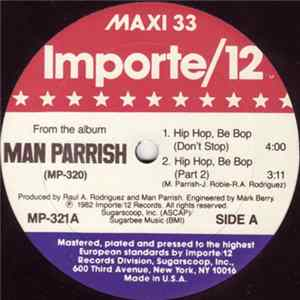 Man Parrish - Hip Hop, Be Bop (Don't Stop) FLAC